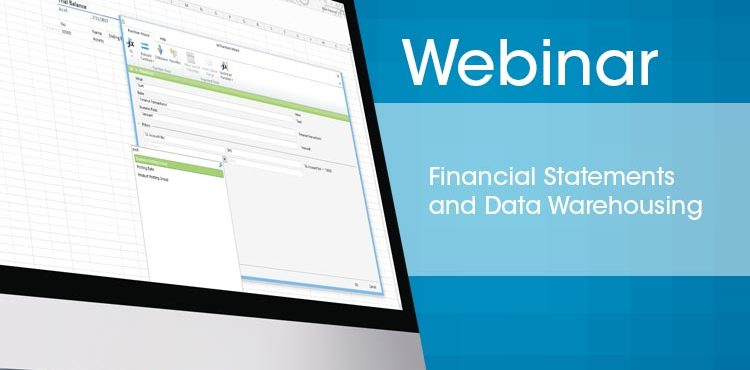 Financial Statements And Data Warehousing