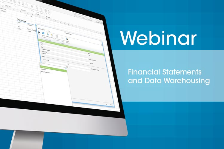 Financial Statements And Data Warehousing