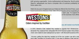 Weston Ciders