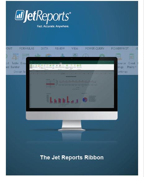 Jet Reports Ribbon