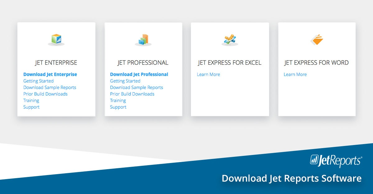 Download Jet Reports Software