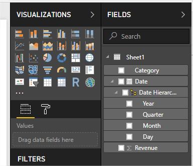 Pbi Desktop Model