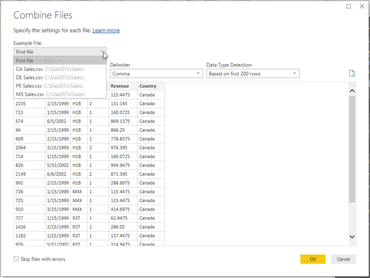 Power Bi Combine Preview