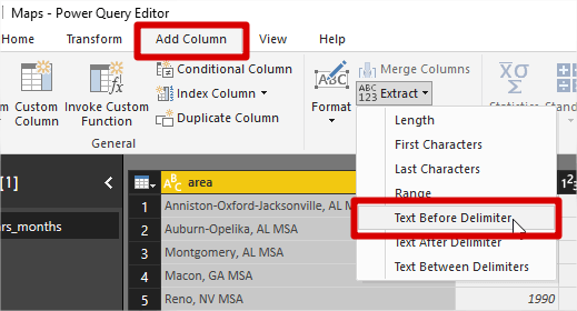 Power Bi Text Before Delimiter