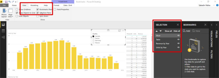 Power Bi Hide Slicer