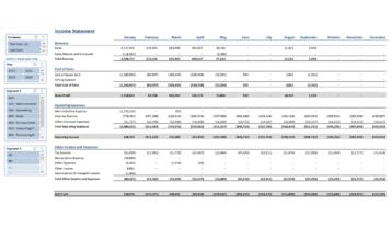 Gp003 Enterprise Income Statement With Slicers V3.0