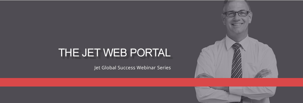 Blog Success Webinar The Jet Web Portal