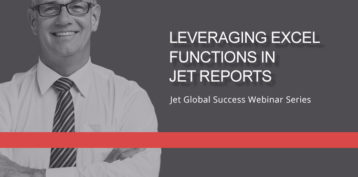 Jet Resource Success Webinar Leveraging Excel Functions