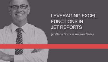 Jet Resource Success Webinar Leveraging Excel Functions
