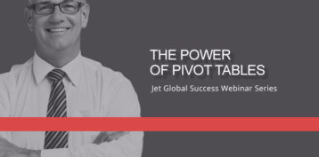 Jet Resource Success Webinar The Power Of Pivot Tables