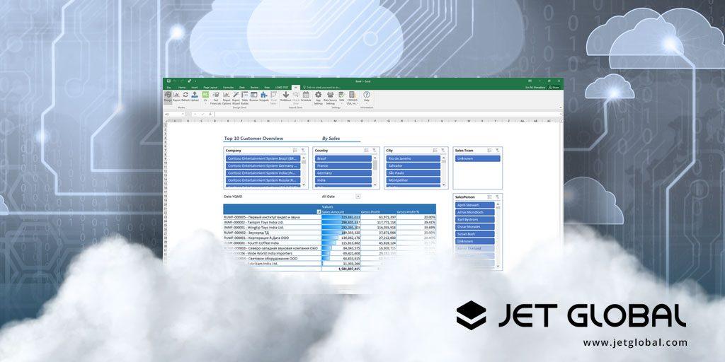 Jet vs  D365FO Data Entities - Jet Global