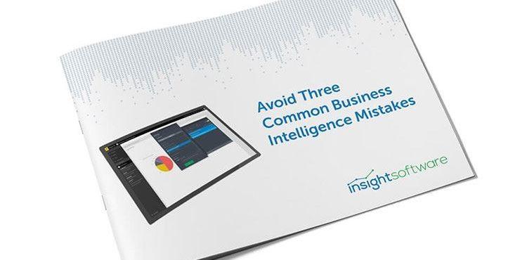 Avoid-3 Common Business Intelligence Mistakes