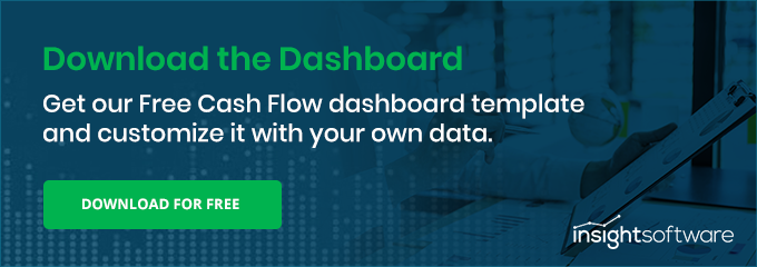 Cash Flow Dashboard Cta