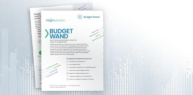Resource Brochures Budgetwand