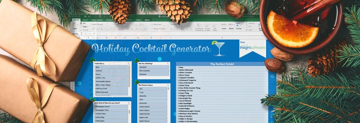 Blog Holiday Cocktail Generator