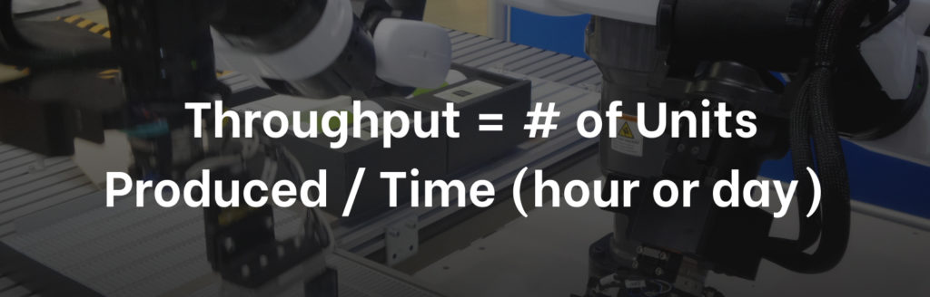 Manufacturing KPI Throughput