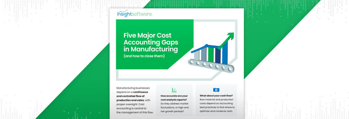 Five Major Cost Accounting Gaps In Manufacturing Infographic Blog Dont D365 Finance And Ops