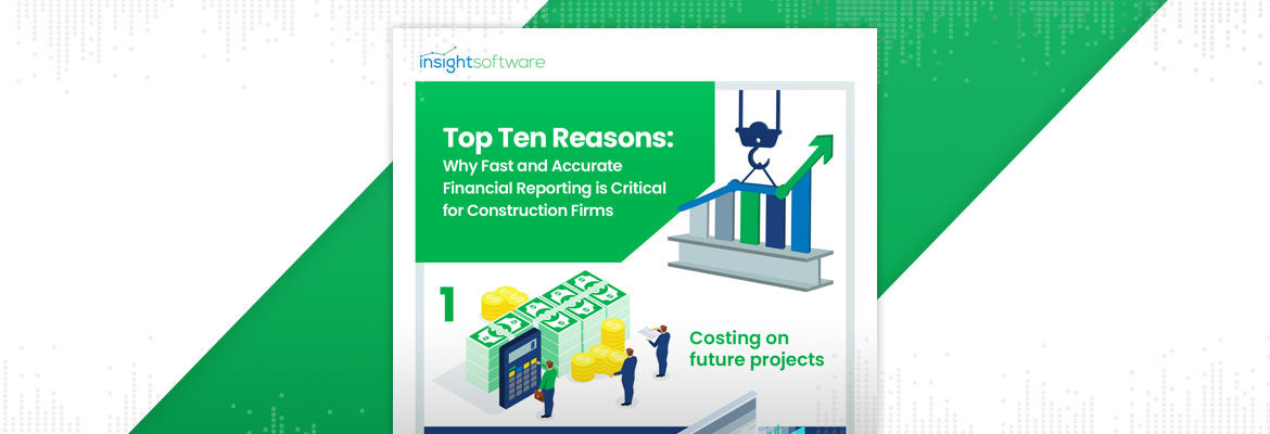 Why Fast And Accurate Financial Reporting Is Critical For Construction Firms Infographic Blog