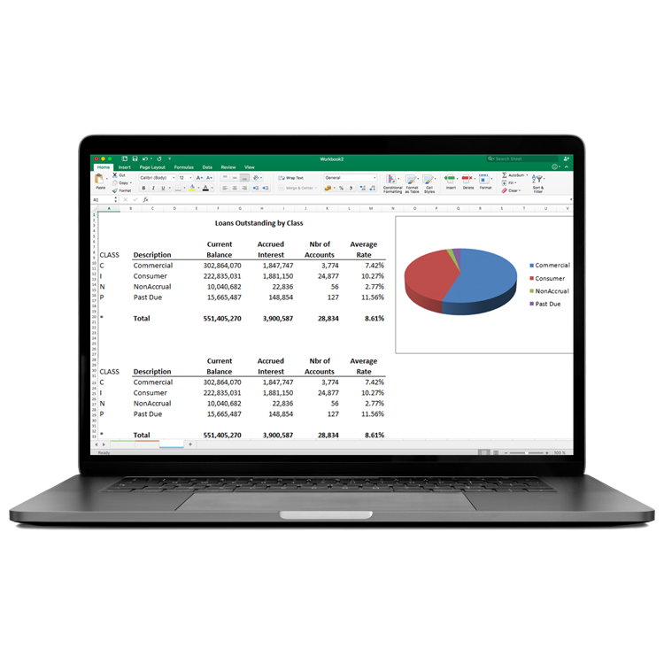 Banking and Finance Reporting Software