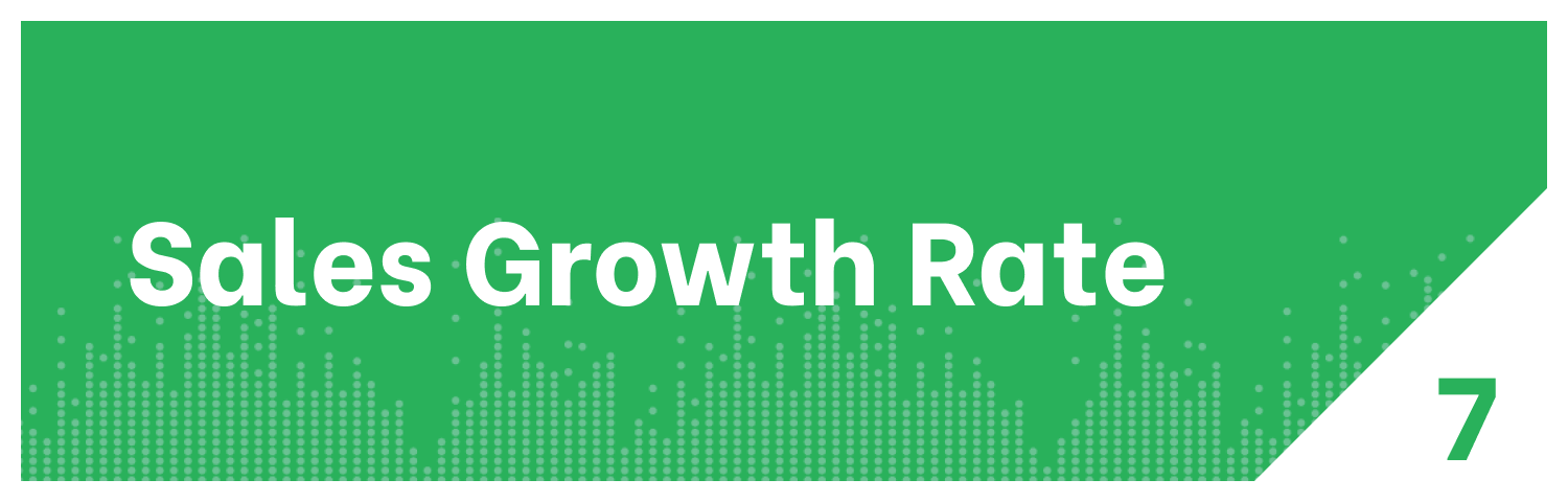 Insurance KPI Sales Growth Rate Metric