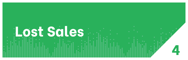 Lost Sales Distribution KPI