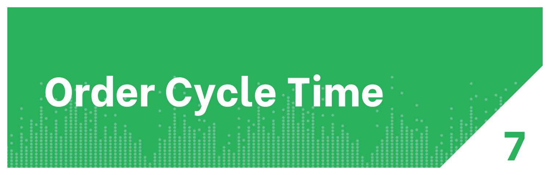 Distribution KPI Order Cycle Time