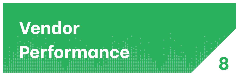 Distribution KPI Vendor Performance