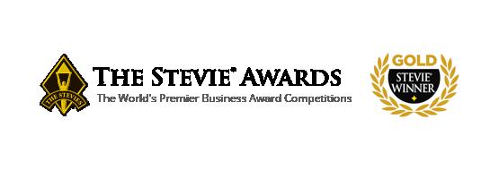 Gold Stevie Award Logo