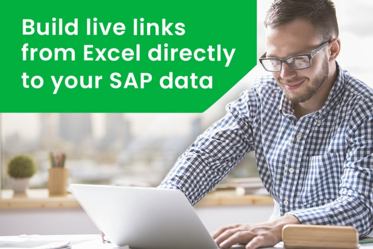 Build live links from Excel directly to your SAP data