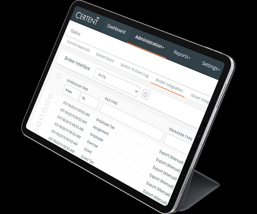 Certent Equity Management Open Platform Connectors 1
