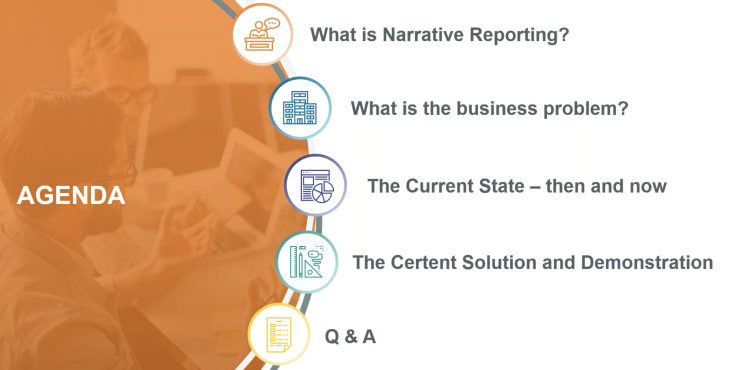 Secure Collaboration Building Narrative Reports With A Remote Finance Team