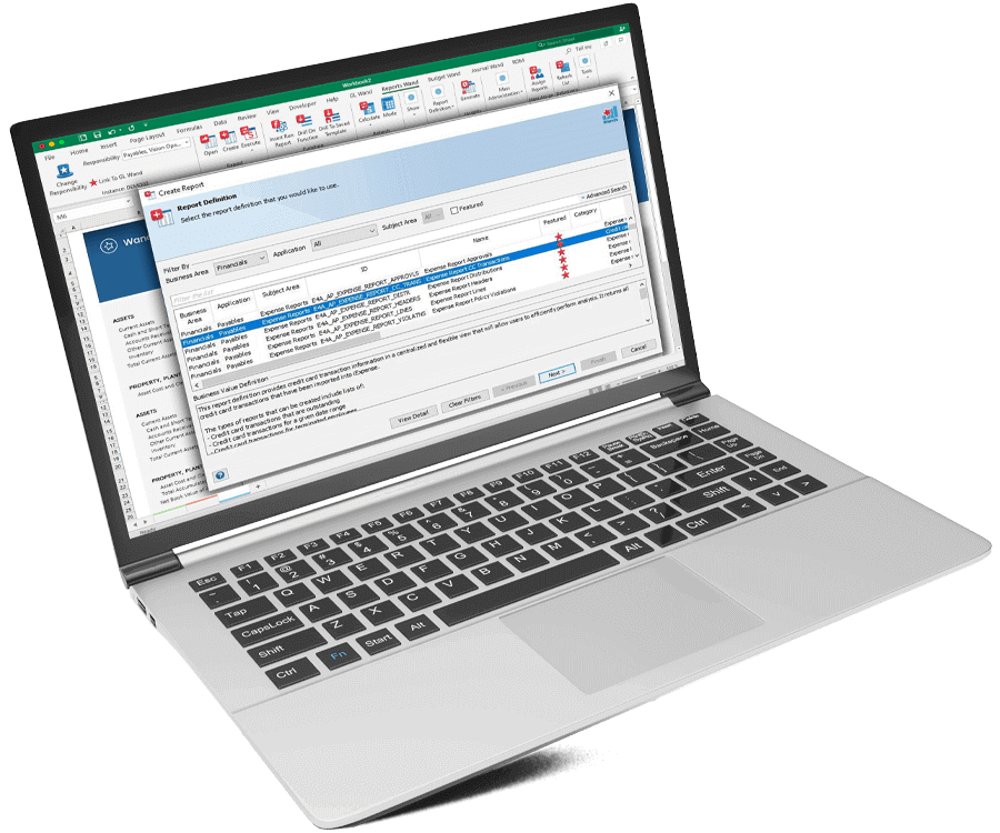 Oracle EBS Reporting Data Insights