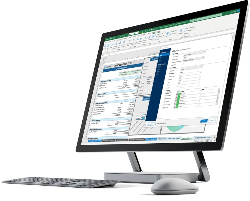 Viewpoint Create Live Drillable Financial Reports