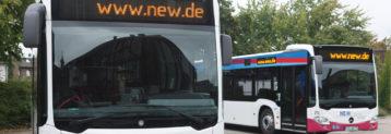 Die NEW AG ist ein Versorgungsunternehmen aus den Bereichen der Energie-, Wasserversorgung und Abwasserentsorgung, das insbesondere in der Region Mönchengladbach und am Niederrhein tätig ist. Die Anteile der NEW AG befinden sich überwiegend in kommunaler Hand.